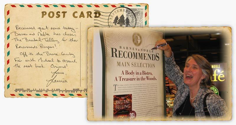 The Brutal Telling Postcard